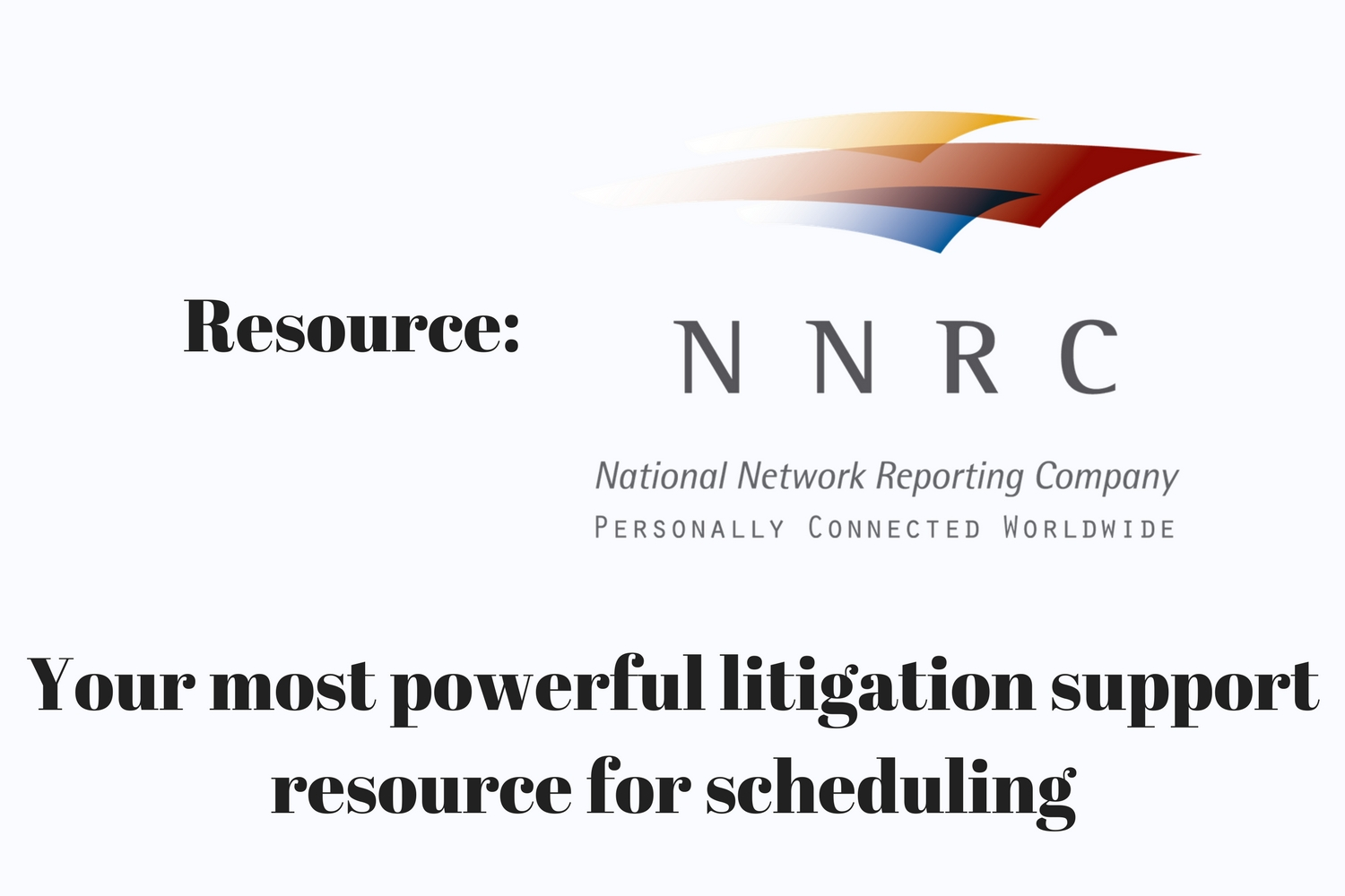 Resource: NNRC, the National Network Reporting Company