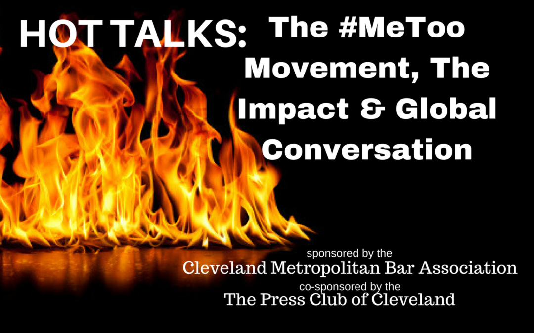CMBA Announces March HotTalks – #MeToo