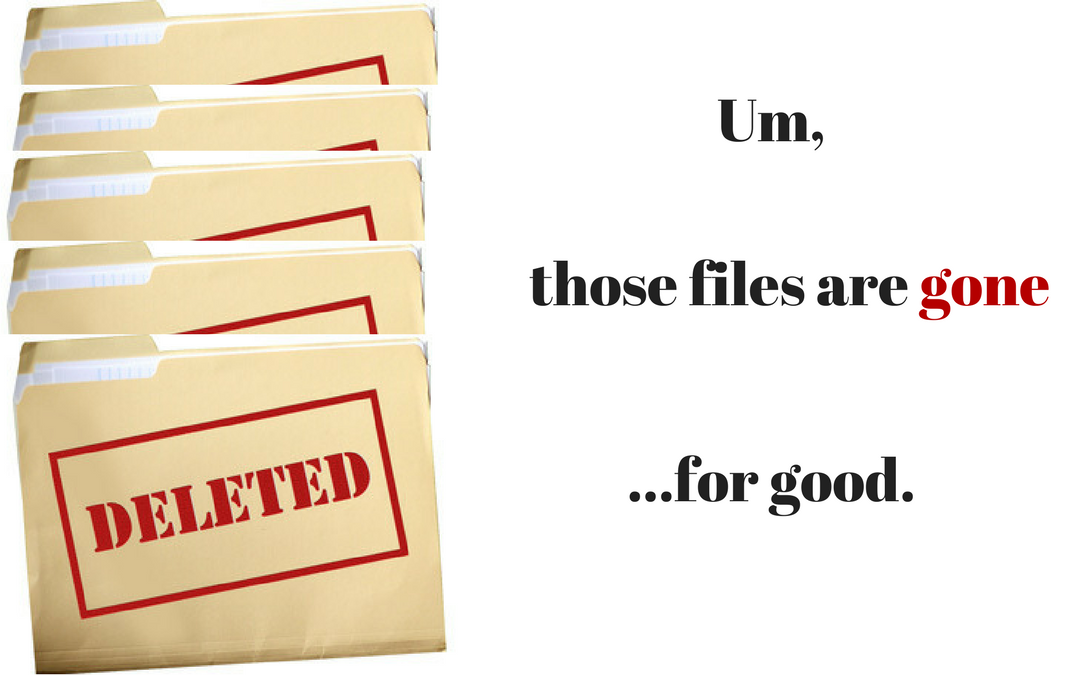 Your Litigation Case Files are Gone.