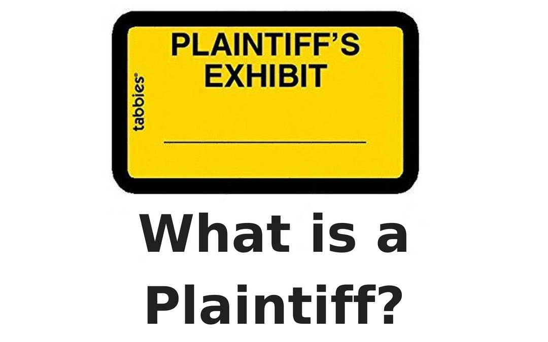 Definition: Plaintiff