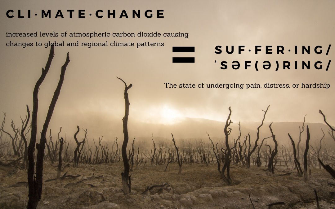 """Climate Emergency"" = ""Untold Suffering"""