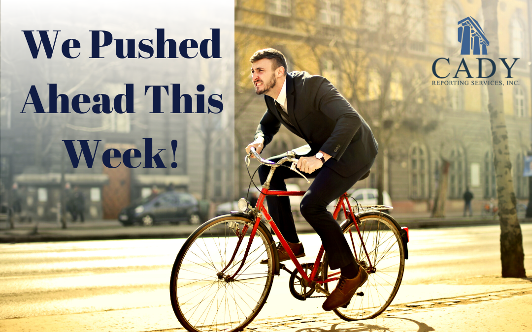Pushing Ahead! February 24-28