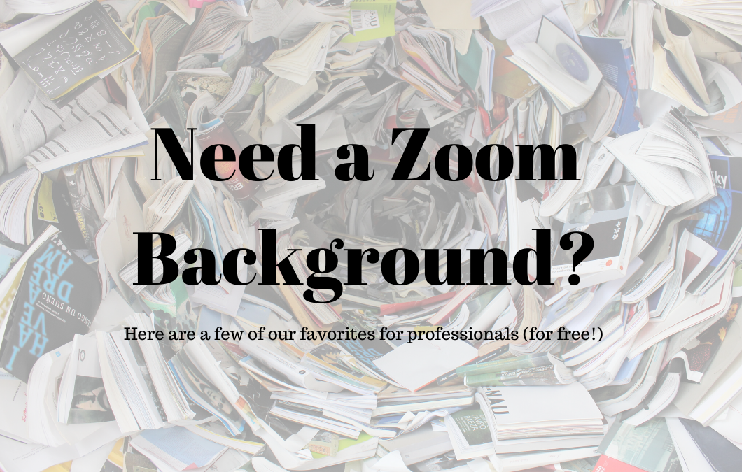 Resource: Free Zoom Backgrounds for Work