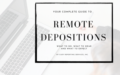 The ULTIMATE GUIDE to Remote Depositions