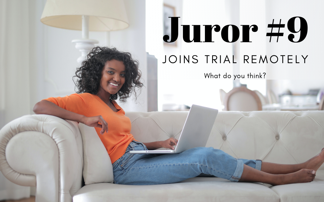First United States ZOOM Jury Trial