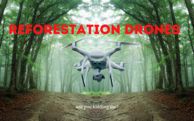 Tree Planting Drones – Real or Fake?