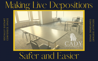 Exciting Announcement! NEW Socially Distanced Conference Room