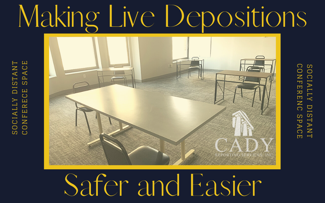 Large conference room for social distancing court reporters cleveland conference room